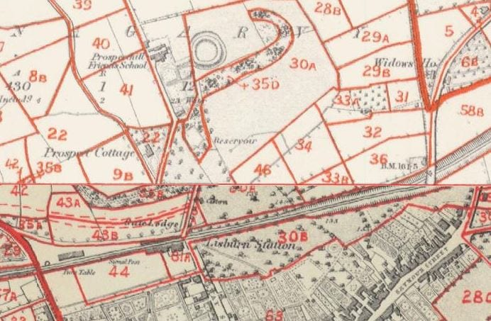 Lisngarvey Fort on a map