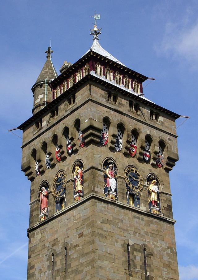 Clock Tower, Cardiff.