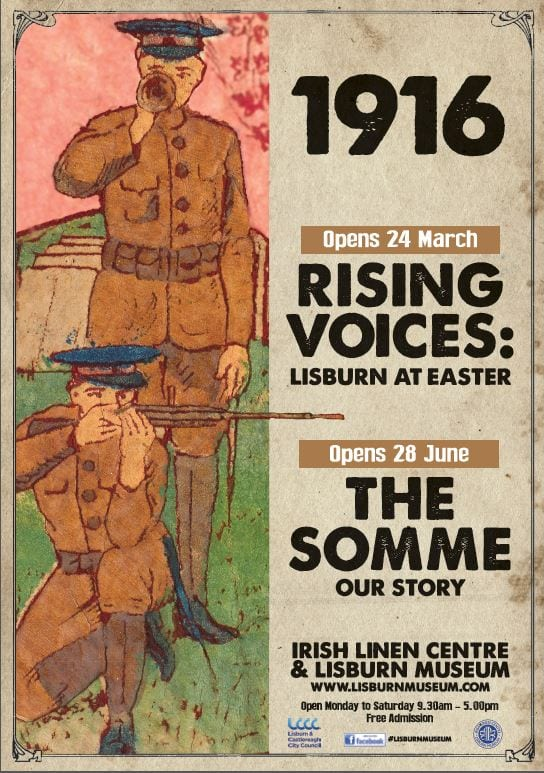 Rising Voices Lisburn at Easter 1916 New Exhibition