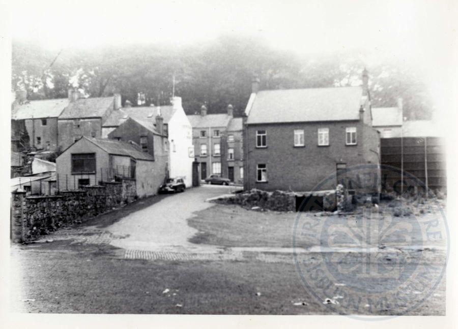 Bridge Street from the Gasworks, c.1960s