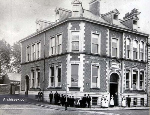 *Guest Post* The Lisburn Temperance Institute, Railway Street