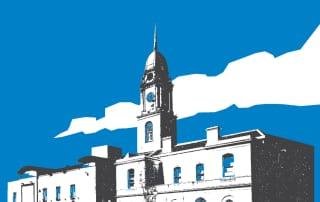 Museum Building Logo