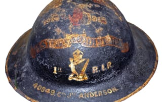 Brodie RIR Helmet Lisburn Museum Objects Collections WWI