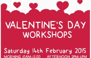 Free Valentine's workshops at teh Irish Linen centre & Lisbrun Museum 2015