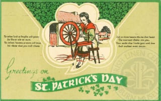 St Patrick's Day in Lisburn Museum Collections