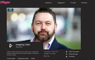 BBC william Crawley imagining ulster 2015