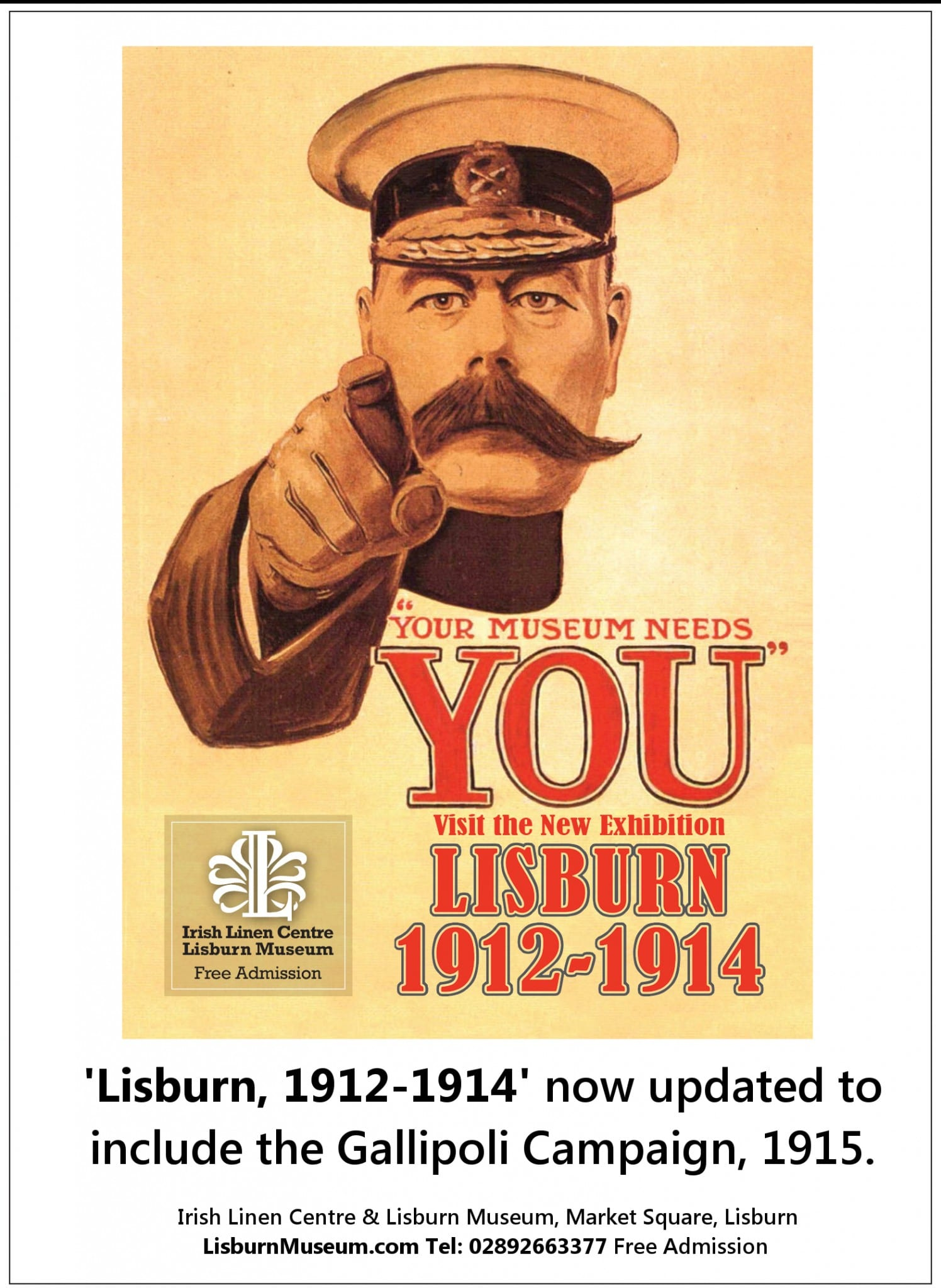 Lisburn and the Great War Exhibition Updated Gallipoli 2015 Free