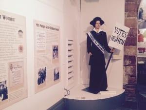 Mrs Metge Lisburn Musuem Suffragette