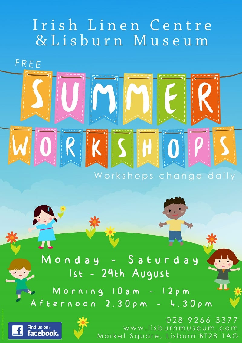 Summer Drop In Workshops Lisburn Museum