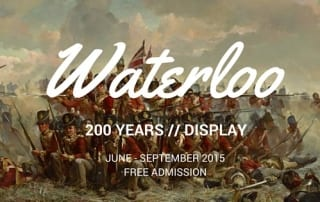 Waterllo 200 Years Display Lisburn Museum Wellington Free