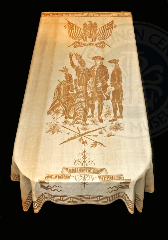 william penn lisburn 1178 damask philadelphia oath quaker