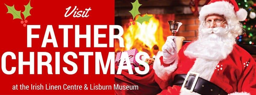 Santa at the Irish Linen Centre Lisburn 2015 free
