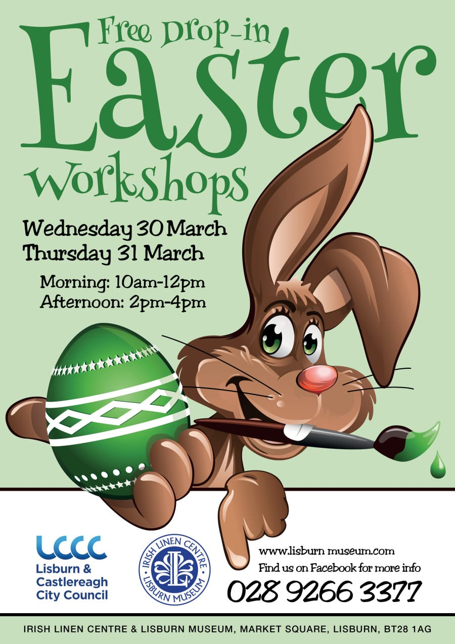 Free Easter Workshops at Lisburn Museum