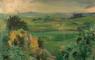 'Thundery Showers, County Down' by Terence Philip Flanagan (1929–2011) is held in the Irish Linen Centre & Lisburn Museum's collection.