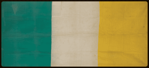 the-captured-tricolour-from-the-GPO-Lisburn