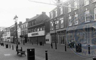 Greens and Chittick's shops on Bow Street, c.1990s
