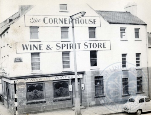 Lisburn Advent Calendar 2016 – Day 22: The Corner House Pub, Antrim Street, c.1960s