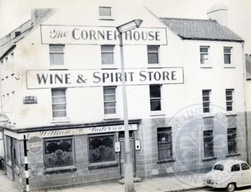 Lisburn Advent Calendar 2016 – Day 22: The Corner House Pub, Antrim Street, c.1960s