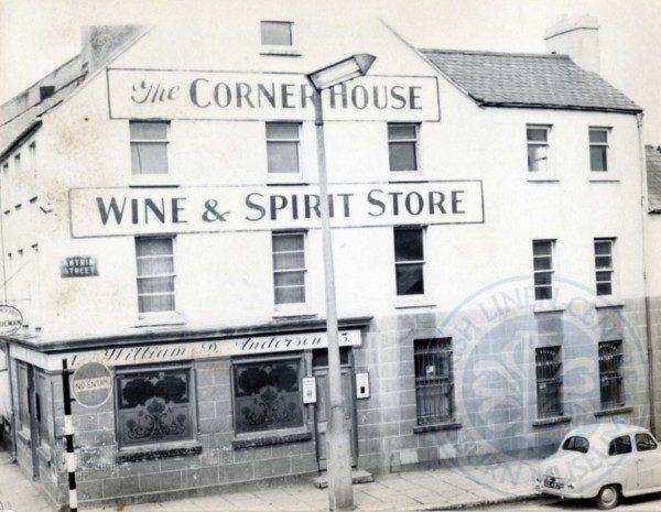 The Corner House Pub, Antrim Street, c.1960s