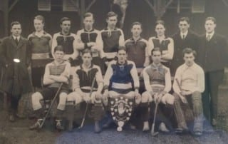 Lisnagarvey Hockey Club and the First World War team 1912-1913