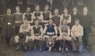 Lisnagarvey Hockey Club and the First World War team 1912-1913