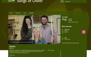 BBC songs of Ulster Irish Linen Centre Lisburn Museum
