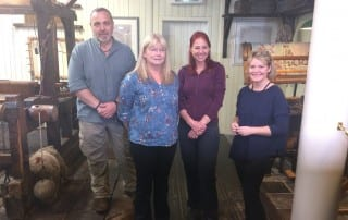 Alice Roberts visit to the Irish Linen Centre & Lisburn Museum