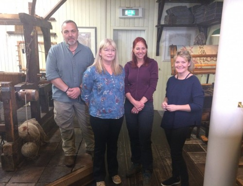 Professor Alice Roberts' visit to the museum, August 2017