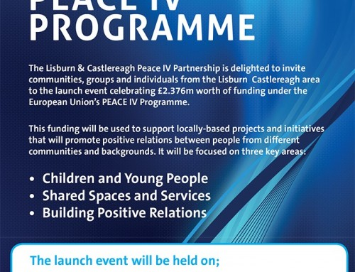 Peace IV Progamme Launch 14th September 2017 – Lisburn & Castlereagh City Council