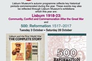 irish linen centre and lisburn museum 2017 autumn talks programme