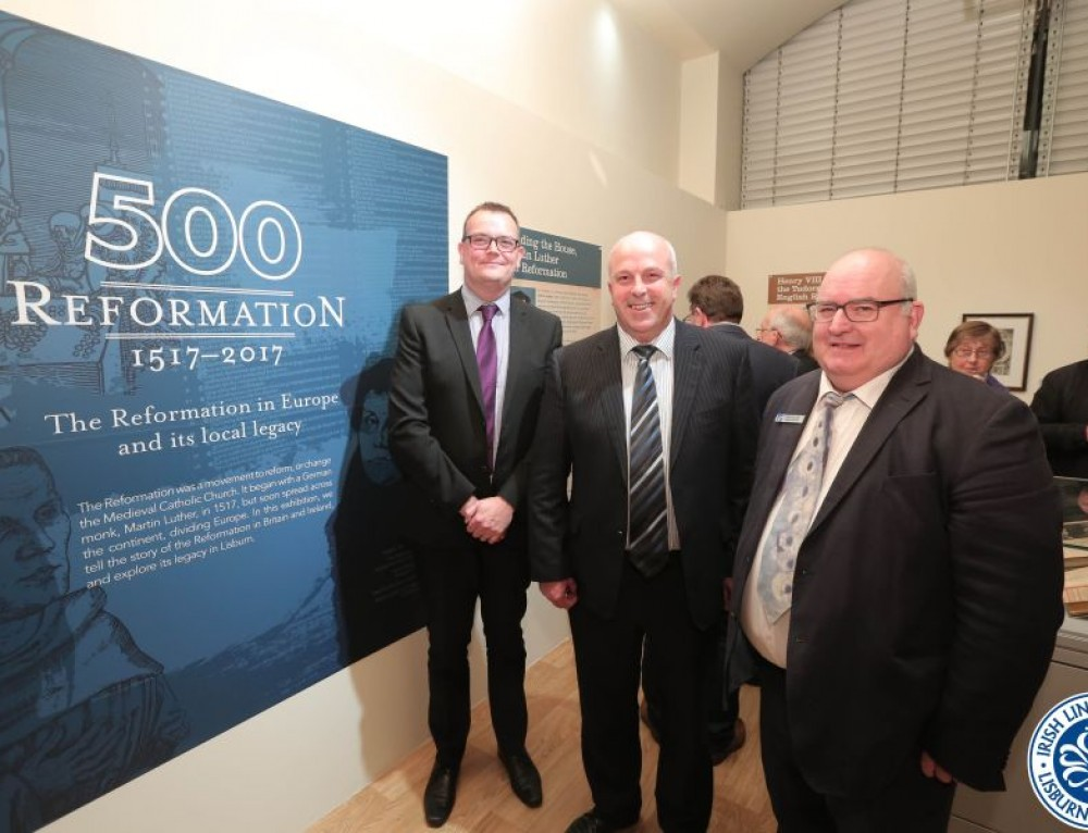 New Reformation Exhibition Opens at the Irish Linen Centre & Lisburn Museum