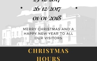Irish Linen Centre & Lisburn Museum Christmas hours 2017