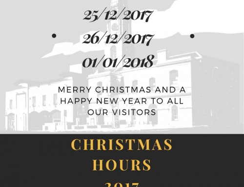 Christmas 2017 Holiday Opening Hours