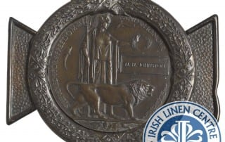 From the Collections - Irish Linen Centre Lisburn Museum - Johnston Death Penny