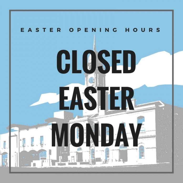 EASTER OPENING HOURS IRISH LINEN CENTRE