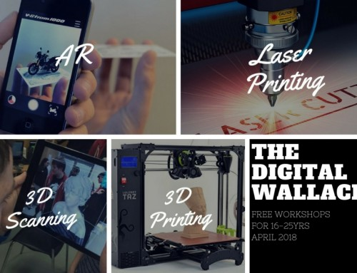 The Digital Wallace: 3D Printing, 3D Scanning and AR Project