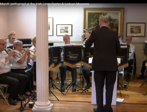 'The Richard Wallace March' performed at the Irish Linen Centre & Lisburn Museum