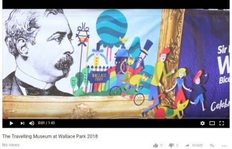 Travelling Museum at Wallace Park 2018