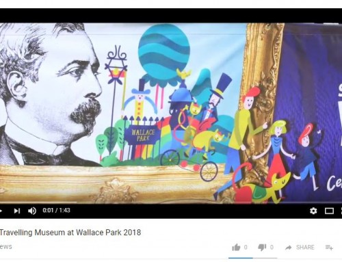 The Travelling Museum at Wallace Park 2018