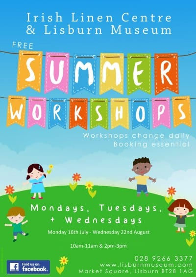 summer workshops 2018