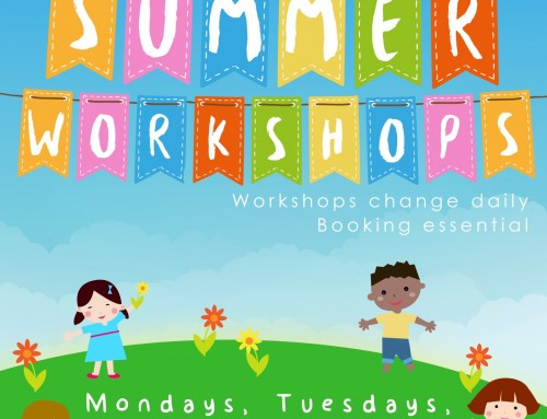 Flaxie Summer Workshops 2018