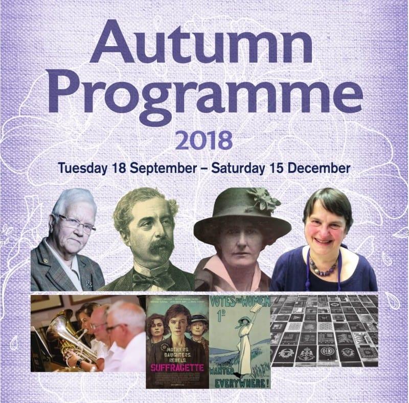 Irish Linen Centre Lisburn Museum Autumn Talks 2018