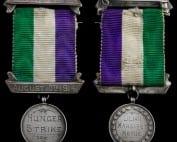 Mrs Metge WSPU Hunger Strike Medal Lisburn Museum