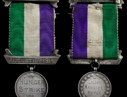 Rare Hunger Strike medal belonging to local suffragette goes on display
