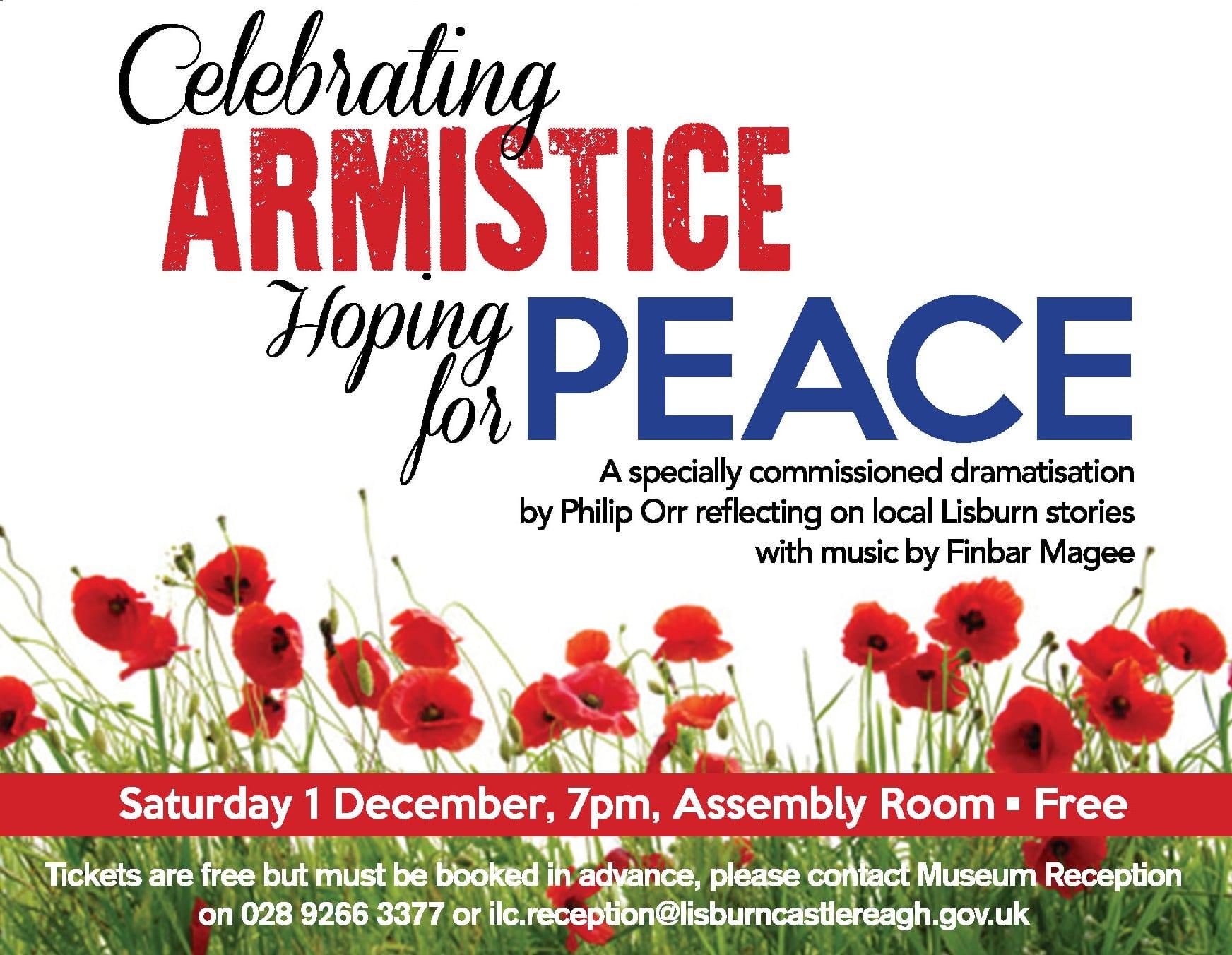 ILCLM celebrating Armistice flyer