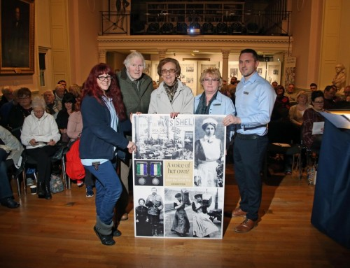 History of the local 'votes for women' campaign explored in a talk at the Museum