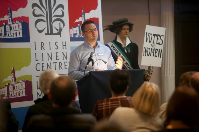 Talk on Lisburn Suffrage, Mrs Metge and the Cathedral Bomb - Dr Ciaran Toal
