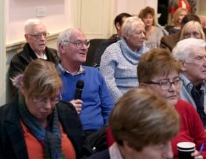 Talk on Lisburn Suffrage, Mrs Metge and the Cathedral Bomb - Audience