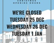 2018 - Christmas and New Years Opening Hours