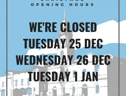 Christmas and New Years Opening Hours 2018